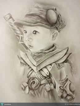 """ Ninja Warrior "" - Sketching | Denny Huang | Touchtalent"