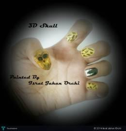 3D Skull Nails - Fashion | Israt Jahan Orchi | Touchtalent