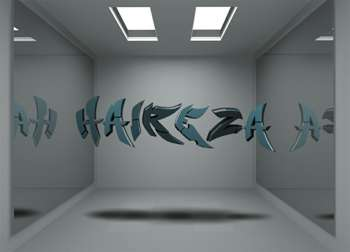 3d Name In The Room Digital Art Hai Reza Touchtalent