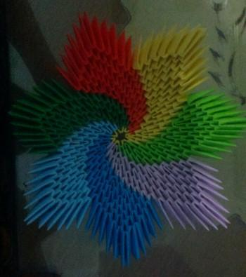 3D Origami Candy Bowl - Tutorial • Art Platter | 395x350