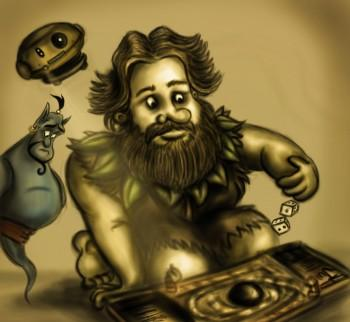 A Tribute To Robin Williams - Digital Art   Vysakh Sidharth   Touchtalent