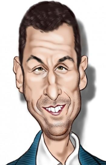 Adam Sandler - Digital Art | Alan Davis | Touchtalent