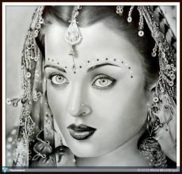 Aishwarya - Sketching | Marie Bouldingue | Touchtalent