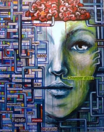 Alarmisme - Painting   Edith Donc   Touchtalent