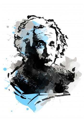 Albert Einstein - Digital Art | Touchtalent .com | Touchtalent