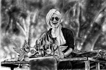 Alia Bhatt - Sketching | Sree Jith | Touchtalent