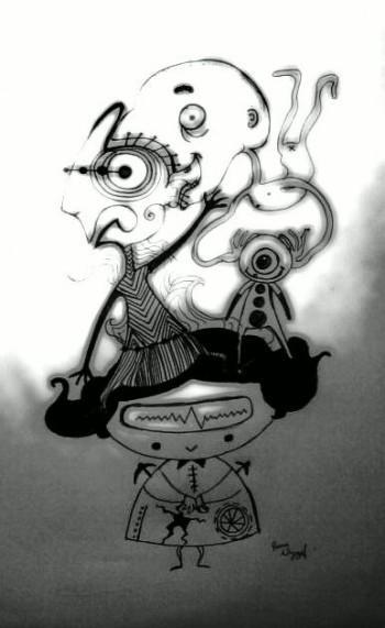 Alien On My Head - Sketching | Pema Wangyel | Touchtalent
