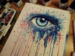 Always Tell Someone How You Feel.................. - Painting | Asmita Shrestha | Touchtalent