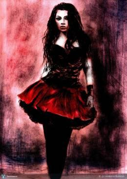 Amy Lee - Digital Art | Hamid Gulistan | Touchtalent