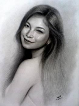 Angel Locsin - Sketching | Nairb Lambating | Touchtalent