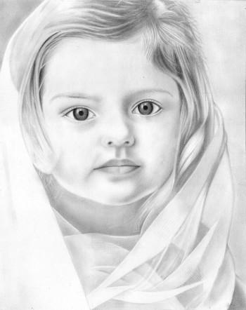 Angelic Princess - Sketching | Chandru Rakes | Touchtalent