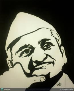 Anna Hazare - Painting | Ar. Sunil Yadav | Touchtalent