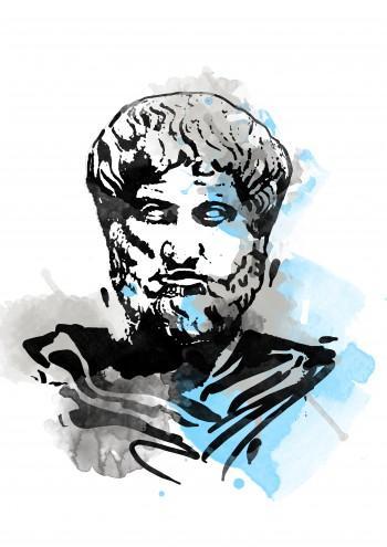 Aristotle - Digital Art | Touchtalent .com | Touchtalent