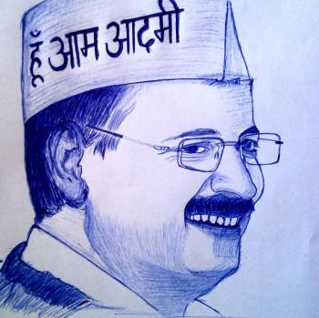 Arvind Kejriwal.. - Sketching | Ankur Verma | Touchtalent