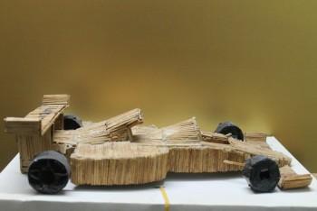 BMW William Made Of Matchsticks - Crafts | Deepak Jothi | Touchtalent