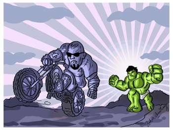 Baby Hulk - Digital Art   Ankur Chaudhary   Touchtalent