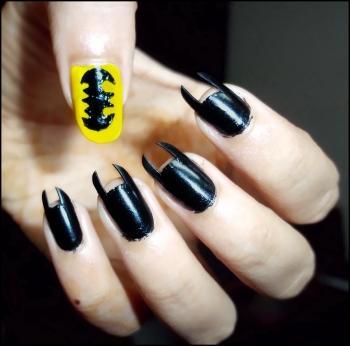 Batman Nails - Bobble Comics | Samiha Shameem | Touchtalent