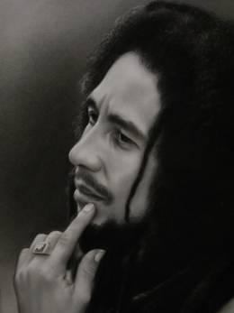 Bob Marley detail