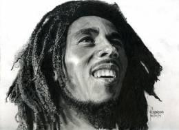 Bob Marley - Sketching | Rodel Rosario | Touchtalent