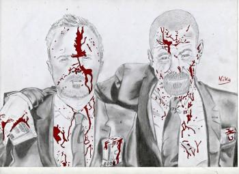 Breaking Bad - Sketching   Kourosh Niky   Touchtalent
