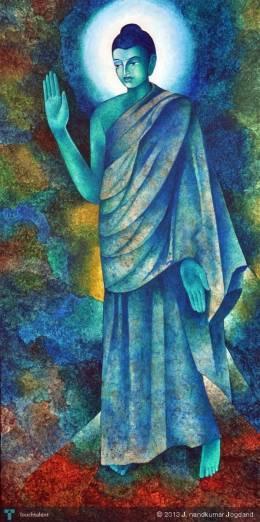 Buddha - Painting | J. Nandkumar Jogdand | Touchtalent