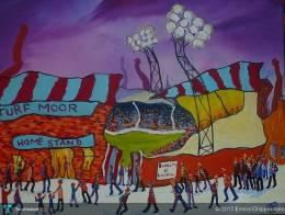 Burnley Football Club - Painting | Emma Chippendale | Touchtalent