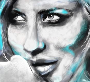 Cate Blanchett - Digital Art | Manju Chaudhuri | Touchtalent