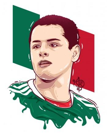Chicarito Hernandez - Digital Art | Pentool Knight | Touchtalent