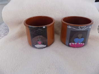 Clay Bowls Upcycled - Crafts | Maya Rodriguez | Touchtalent