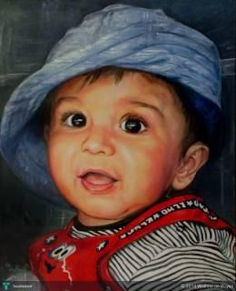 Commissioned Painting /Oil On Panel/ 16'' X 20'' - Painting | Wathmi De Zoysa | Touchtalent