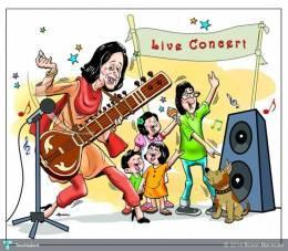 Concert - Bobble Comics   Sovan Banerjee   Touchtalent