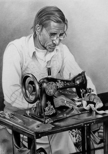 Couturier De Jaipur - Sketching | Marie Bouldingue | Touchtalent