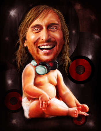 David Guetta - Digital Art | Vysakh Sidharth | Touchtalent
