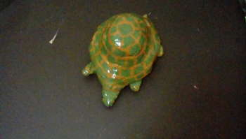 Deep Green Turtle - Crafts | Maya Rodriguez | Touchtalent