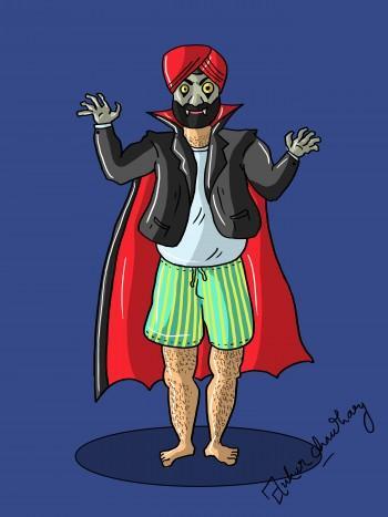 Dracula Singh - Digital Art   Ankur Chaudhary   Touchtalent