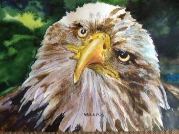 Eagle - Painting | Varga Silvia | Touchtalent