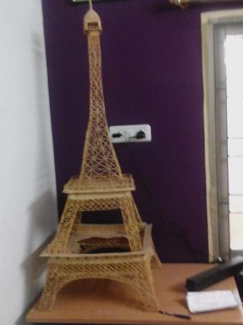 Eiffel Tower - Crafts | Deepak Jothi | Touchtalent