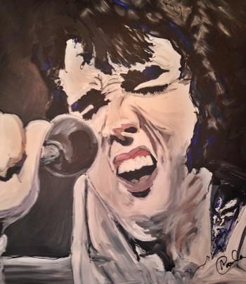 Elvis Is Alive - Painting | Paula Baker | Touchtalent