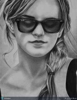 Emma Watson - Sketching | John Michael Bucal | Touchtalent