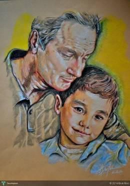 Father & Son - Sketching | Doki Doc | Touchtalent