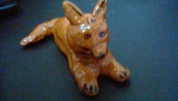Foxy Cat=Upcycled - Crafts | Maya Rodriguez | Touchtalent