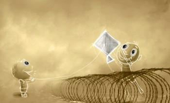Flying On A Barbed Wire - Digital Art | Sarat Kumar | Touchtalent