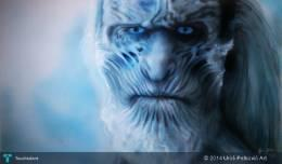 Game Of Thrones White Walker - Painting | Uroš Petković | Touchtalent