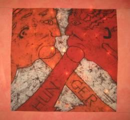 Gilbert and George - Hunger - Batik
