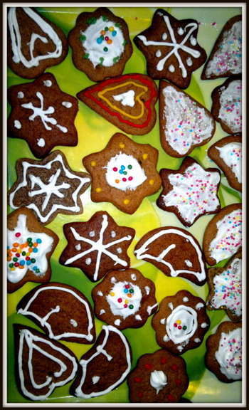#Christmas Gingerbreads - Design | Zuzanna Sankowska | Touchtalent