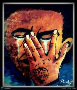 Grief - Painting | Pinky Punia | Touchtalent