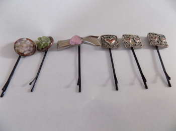 Hair Jewelry Pins Upcycled - Crafts | Maya Rodriguez | Touchtalent