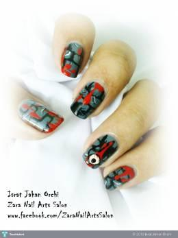 Halloween Nails - Fashion | Israt Jahan Orchi | Touchtalent