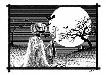 Halloween - Digital Art | Arko Chakraborty | Touchtalent
