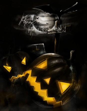 #Halloween - Digital Art | Sarat Kumar | Touchtalent
